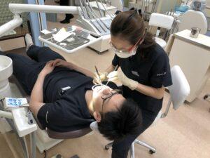 ガムピーリング(歯茎の黒ずみ除去、歯茎漂白)